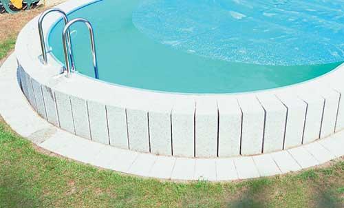 Luftkammerfolie f r stahlwand schwimmbecken rund - Pool mit stahlwand ...