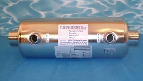 Schwimmbad w rmetauscher wt for Schwimmbad stahlwandbecken