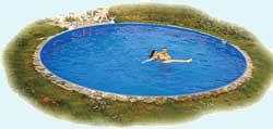 Schwimmbad ersatzfolie einlegefolie tankhaut for Ersatzfolie pool rund