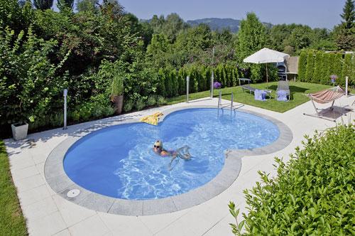 pool komplett set d w langform stahlwand schwimmbecken. Black Bedroom Furniture Sets. Home Design Ideas
