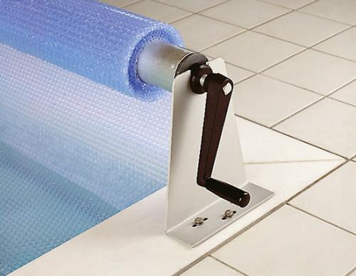 Luftkammerfolie mit rollvorrichtung von t scharner gmbh for Schwimmbecken mit stahlwand