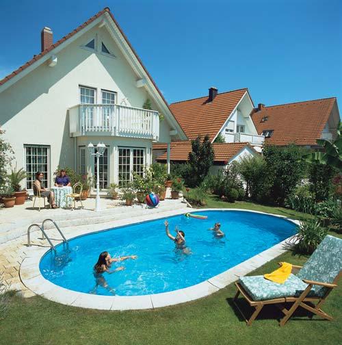 ovales styropor baustein komplett schwimmbecken 150 cm tief. Black Bedroom Furniture Sets. Home Design Ideas